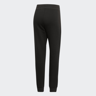 Women Sport Inspired Black Brilliant Basics Track Pants