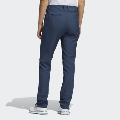 Women Golf Blue Primegreen Full-Length Pants