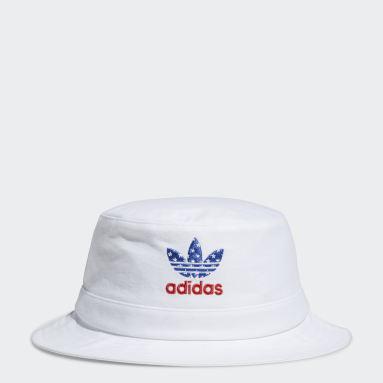 Originals White Americana Bucket Hat