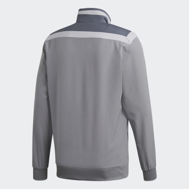 Men Gym & Training Grey Tiro 19 Presentation Jacket