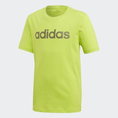 Jungen Sportswear Essentials Linear Logo T-Shirt Grün