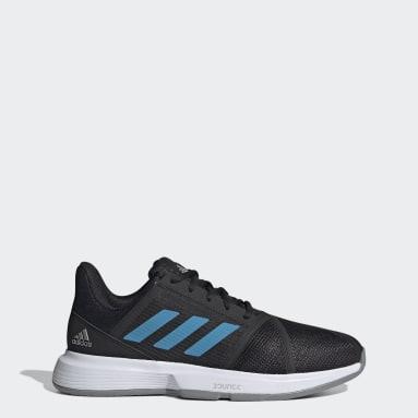 Men's Tennis Black CourtJam Bounce Shoes