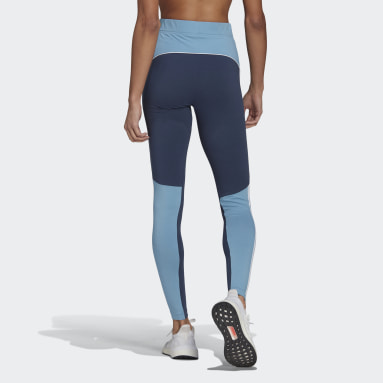 Women's Sportswear Blue adidas Sportswear Colorblock Leggings