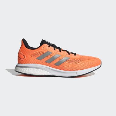 Scarpe Supernova Arancione Uomo Running