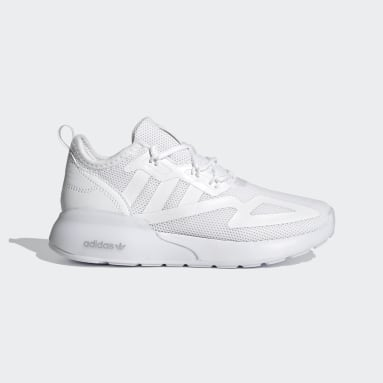 Kids 4-8 Years Originals White ZX 2K Shoes