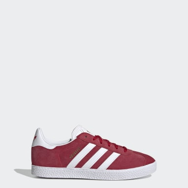 Youth 8-16 Years Originals Red Gazelle Shoes