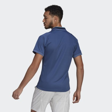 Men Tennis Blue Tennis Freelift Primeblue HEAT.RDY Polo Shirt