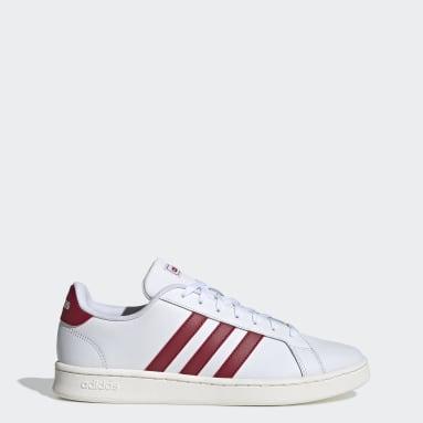 Men Sport Inspired White Grand Court Shoes