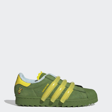Men Originals Green Superstar 80s TR Shoes