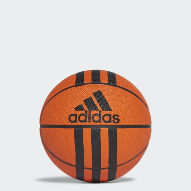 Basketball Orange 3-Stripes Mini Basketball