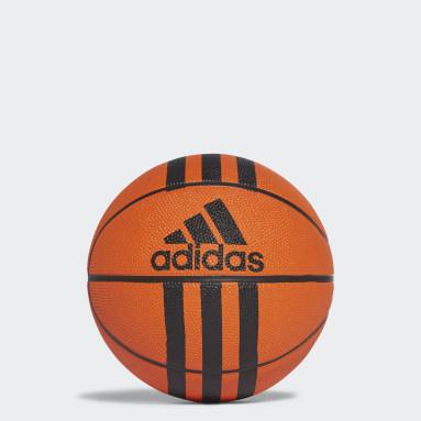 Mini ballon Basketball 3-Stripes Orange Basketball