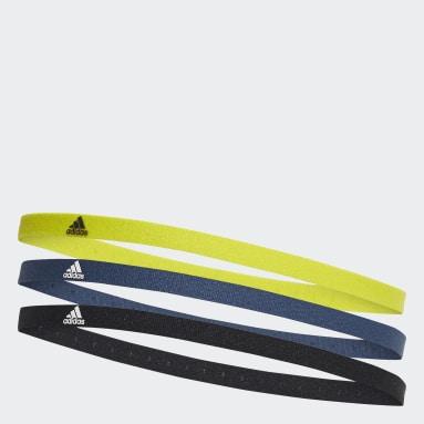 Veld Hockey Zwart Haarband 3-Pak