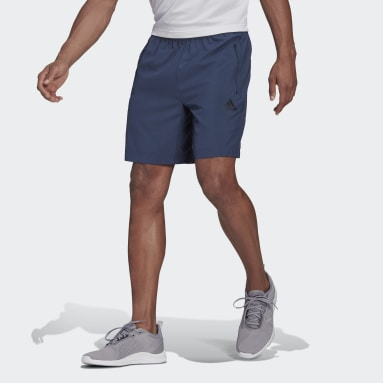 Shorts Esportivo AEROREADY Designed 2 Move Azul Homem Training