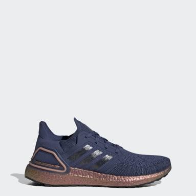 Chaussure Ultraboost 20 Bleu Hommes Course