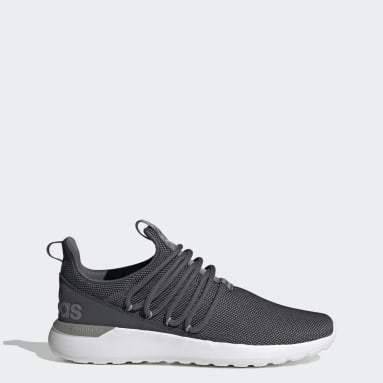 Men's Essentials Grey Lite Racer Adapt 3.0 Shoes