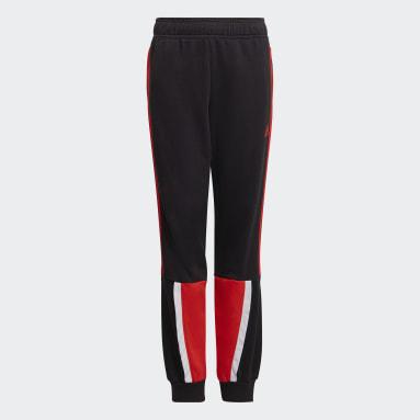 Pantaloni Bold Nero Ragazzo Fitness & Training