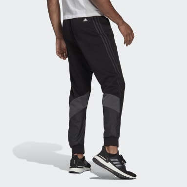 Men's Sportswear Black adidas Sportswear Fabric Block Pants