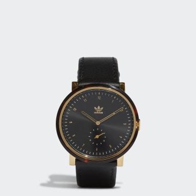 Originals Zwart District_AL3 horloge