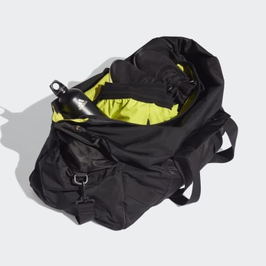 Women Training Black Sports Duffel Bag