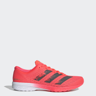 Men Running Pink Adizero RC 2 Shoes