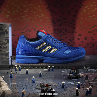 Originals Blue adidas ZX 8000 x LEGO® Shoes