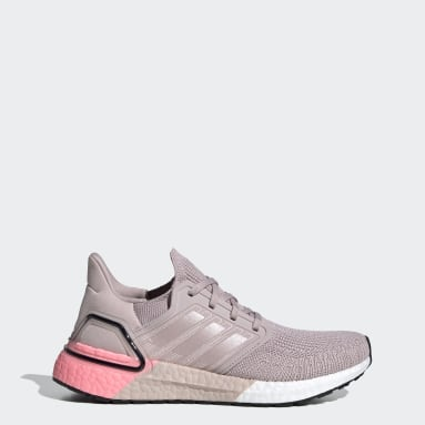 Women Running Pink ULTRABOOST 20 W
