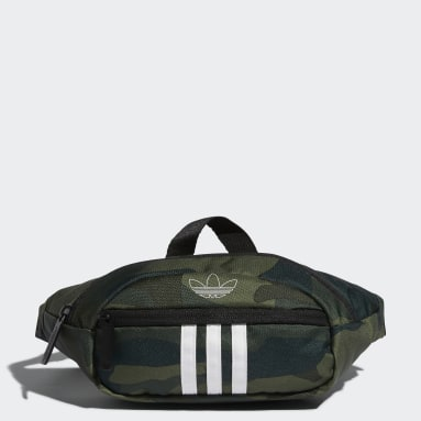 Originals Green National 3-Stripes Waist Pack