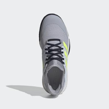 Sapatos Court Team Bounce – Pavilhão Cinzento Netball