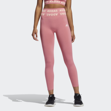 Frauen Running Training Aeroknit High-Rise 7/8-Tight Rosa