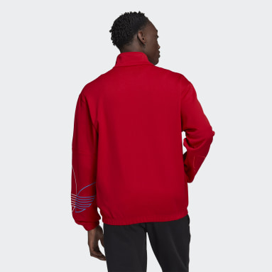 Men Originals Red Adicolor FTO Track Jacket