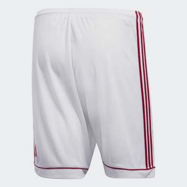Men Gym & Training White Squadra 17 Shorts