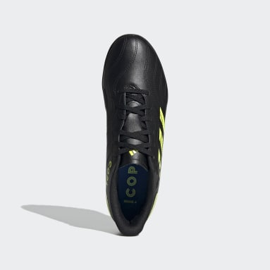 Men Soccer Black Copa Sense.4 Turf Shoes