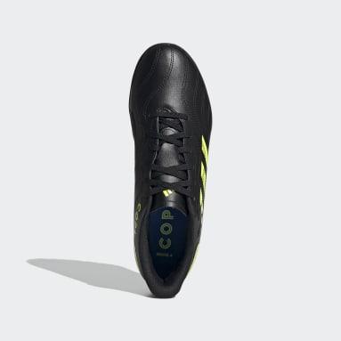 Heren Voetbal Zwart Copa Sense.4 Turf Voetbalschoenen
