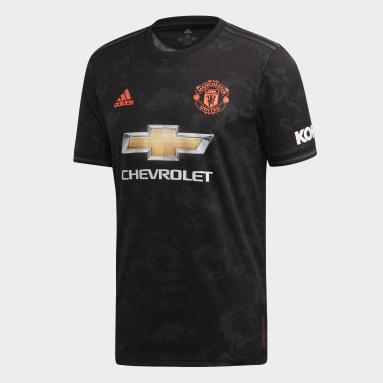 Men Football Black Manchester United Third Jersey