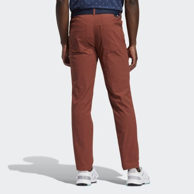 Pantaloni Go-To Five-Pocket Rosso Uomo Golf