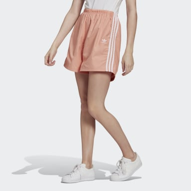 Women Originals Pink Adicolor Classics Ripstop Shorts