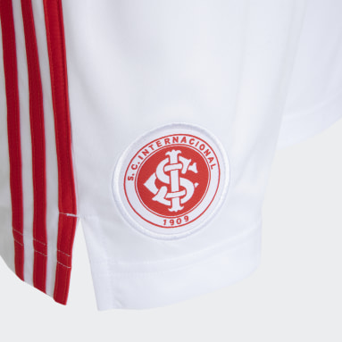 Shorts 1 Internacional 20/21 Branco Homem Futebol
