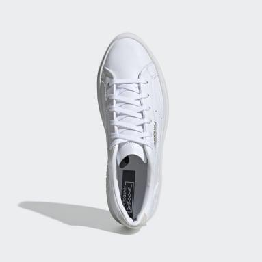 Ženy Originals bílá Obuv adidas Sleek Super