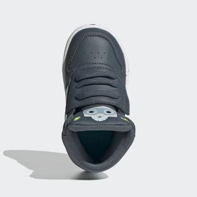 Zapatillas Hoops 2.0 Mid (UNISEX) Verde Niño Diseño Deportivo