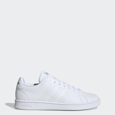 Men's Essentials White Advantage Base Shoes