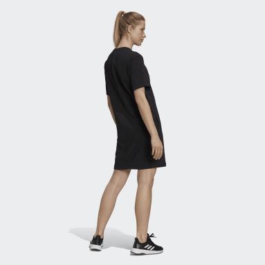 Women's Essentials Black adidas x Zoe Saldana Dress