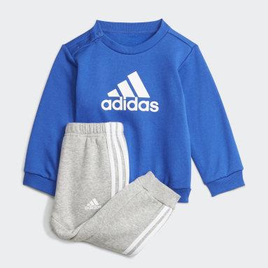 Kids Gym & Training Blue Badge of Sport Jogger Set