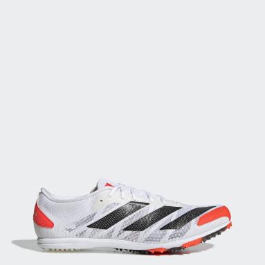 Track & Field White Adizero XCS Shoes