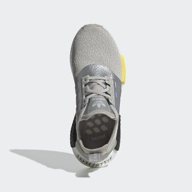 Kinder Originals NMD_R1 Schuh Grau