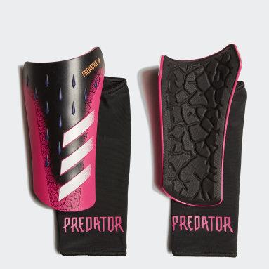 черный Футбольные щитки Predator League