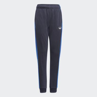 Børn Originals Blå adidas SPRT Collection træningsbukser