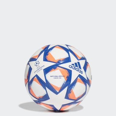 Ballon UCL Finale 20 Junior League 350 Blanc Football
