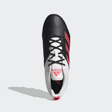 Rugby Black Kakari Elite Soft Ground Boots