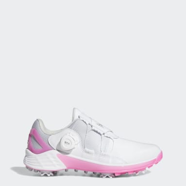 Women's Golf White ZG21 BOA Golf Shoes