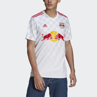 Football White New York Red Bulls 21/22 Home Jersey
